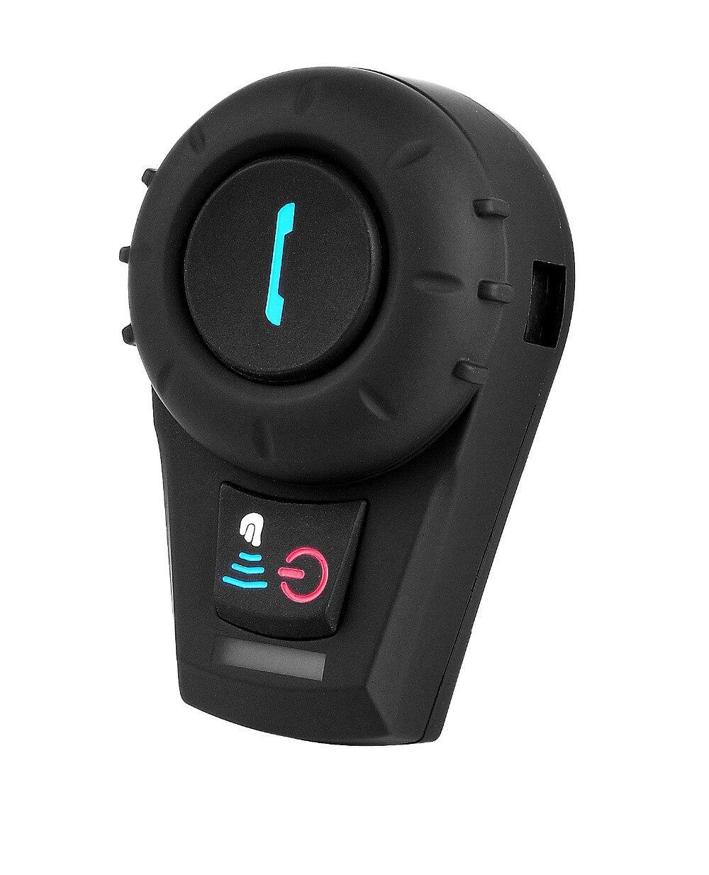 Nuevo intercomunicador de Radio FM Bluetooth 500M BT para casco de motocicleta, intercomunicador con auricular para teléfono/GPS/MP3