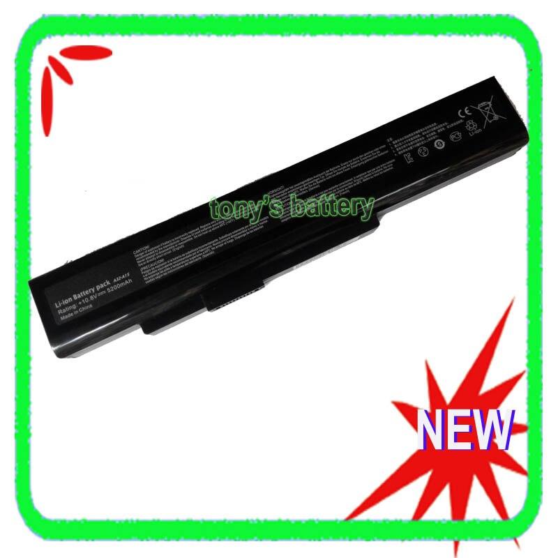 6 celdas de batería del ordenador portátil para Medion Akoya E6228 E7201 E7220 E7222 E7221 P6633 P7818