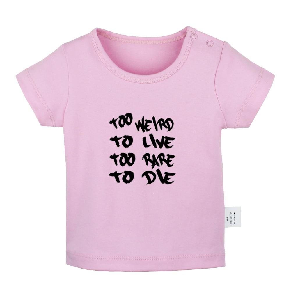 Белые футболки для новорожденных с изображением мопса панк рок группы Алиса в