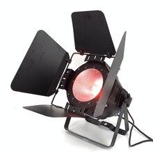 Lumière de pair de lépi 200W LED avec les portes de grange RGBWA UV 6in1/RGBW 4in1/rvb 3in1/blanc chaud Par64 LED contrôle de Dmx détape légère de lavage de dj
