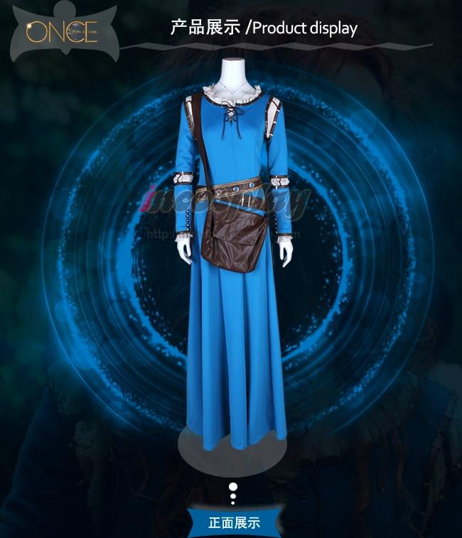 Vestido de Halloween y Carnaval para mujer, traje de Halloween para Halloween y Carnaval de Once Upon A Time 5