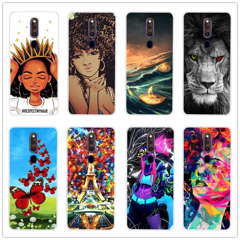 Silicone Soft TPU Back Case For OPPO F11 PRO Phone Cover For Funda OPPO F11 PRO Cases phone cases
