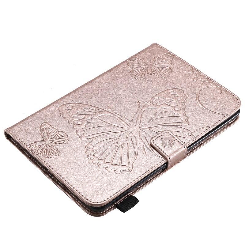 "Купить с кэшбэком Wekays For Apple IPad Mini 1 2 3 7.9"" Cartoon Butterfly Leather Fundas Case For IPad Mini1 Mini2 Mini3 Cover Cases For Ipad Mini"