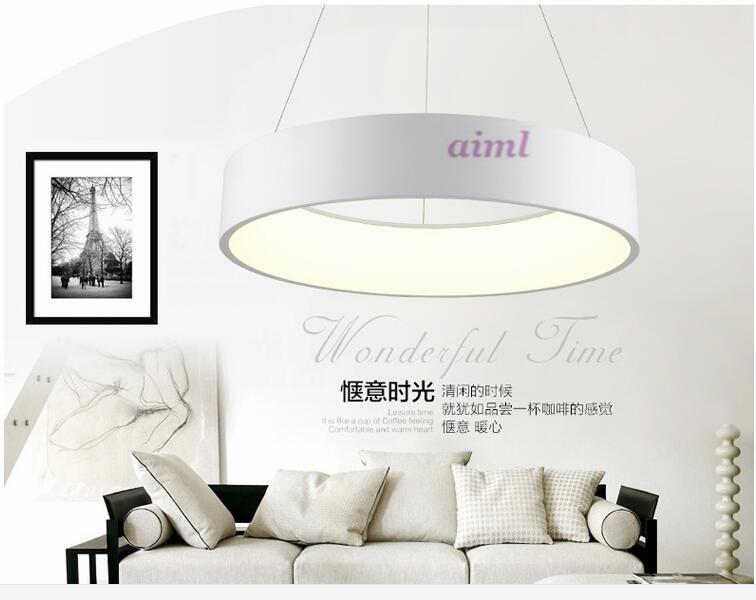 NEW  LED 50W 80CM ring hight 12cm  Pendant Light Modern Design/ LED Ring Special for office,Showroom,LivingRoom