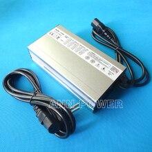 Зарядное устройство для литиевых батарей, 36 В, 5A, 42 в, 5A, алюминиевый чехол, зарядное устройство для 10S, 36 В, Lipo/LiMn2O4/LiCoO2, интеллектуальное зарядное устройство