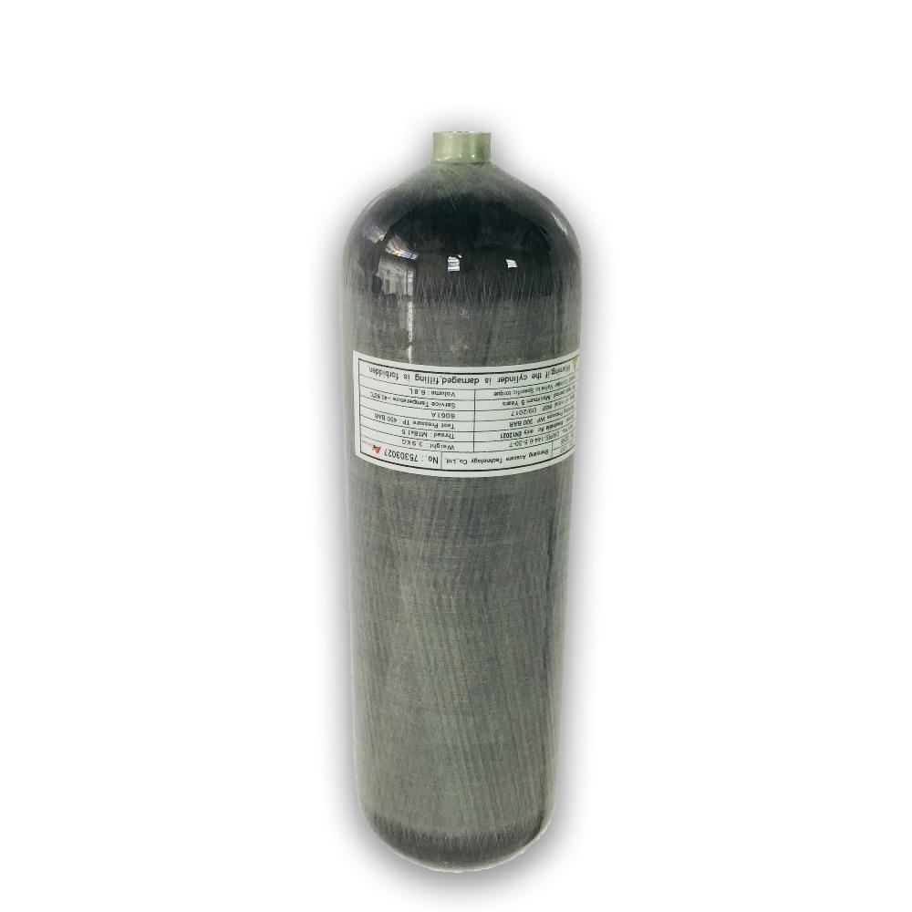 Ac168 pistola de ar comprimido 6.8l garrafas pcp airforce condor 4500psi carbono barril airsoft 300bar subaquática arma acecare