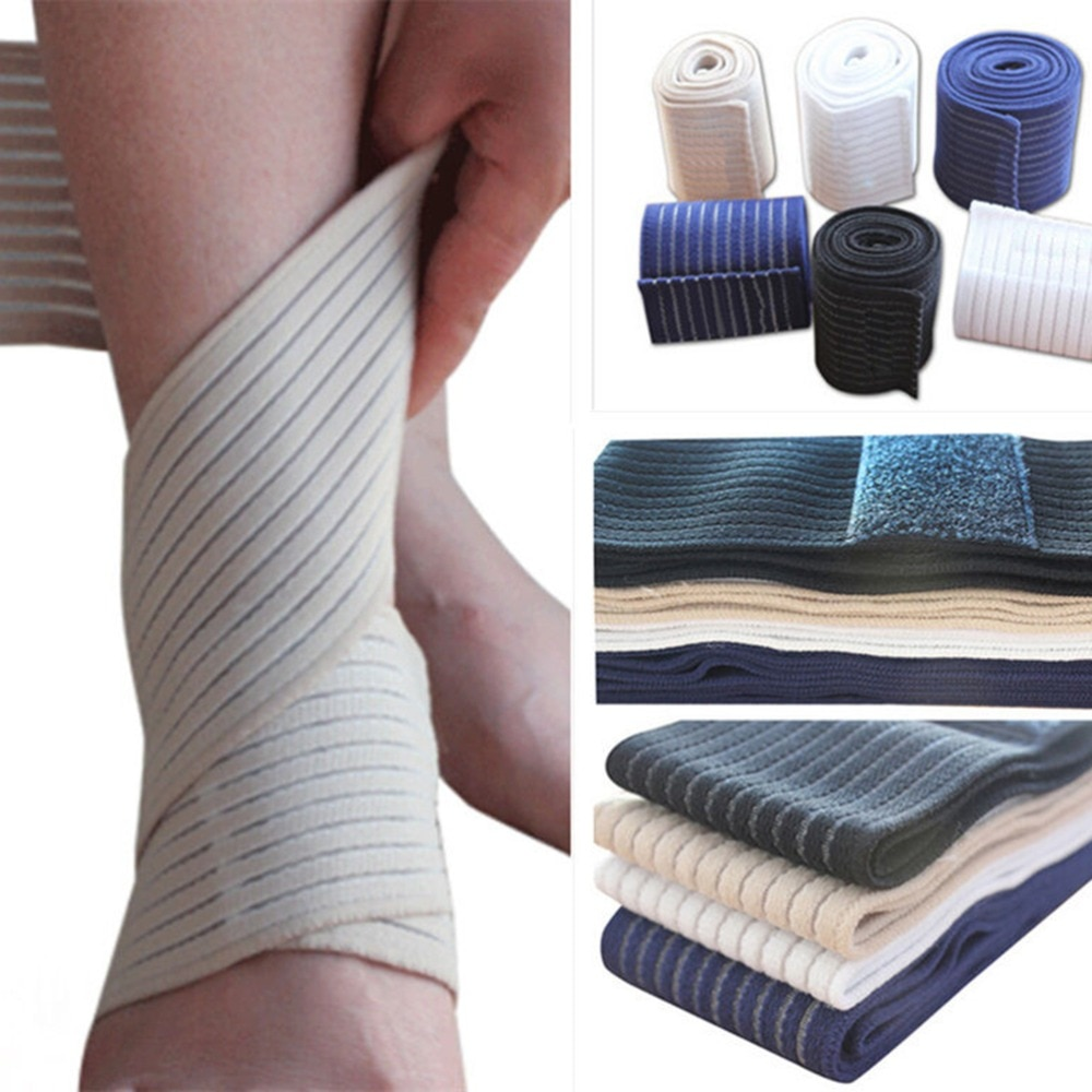 Ankle Support Spirally Wound Bandage Volleyball Basketball Ankle Orotection Adjustable Elastic Bands
