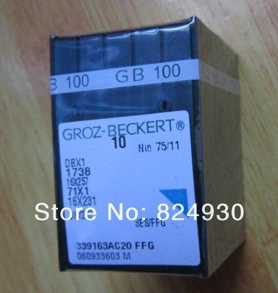 Máquina de coser piezas aguja de coser DBX1 para Groz-beckert