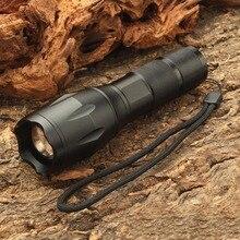 Ultrafire 18650 Zaklamp XML-T6 Zender Luz Lamp 5 Mode Zoom Tactische Zaklamp Lantaarn Jacht Waterdichte Zaklamp
