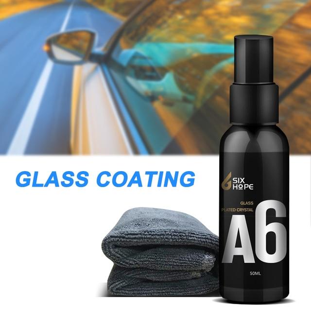 50ml Rainproof Car Glass Coating Spray Car Wash Maintenance Cleaning Liquid  NJ88