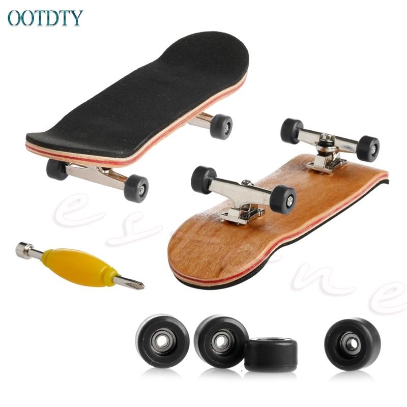 Деревянный скейтборд, 1 шт., спортивные игры, подарок для детей, клен, дерево #330