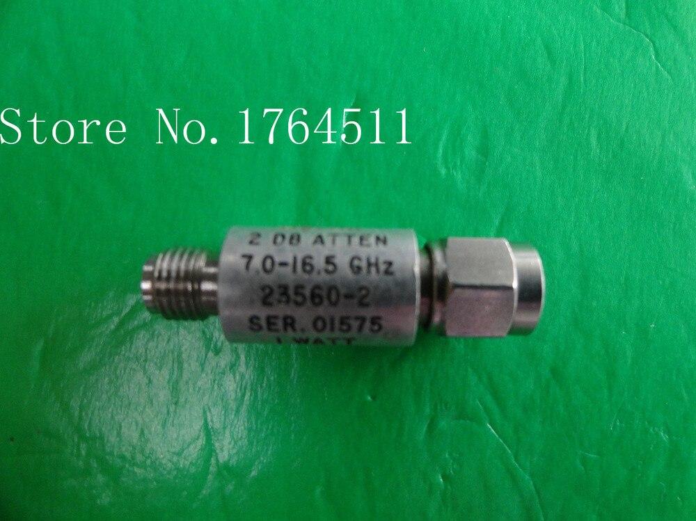 [BELLA] NARDA 23560-2 7-16,5 GHz 2dB 2W SMA coaxial fijo atenuador