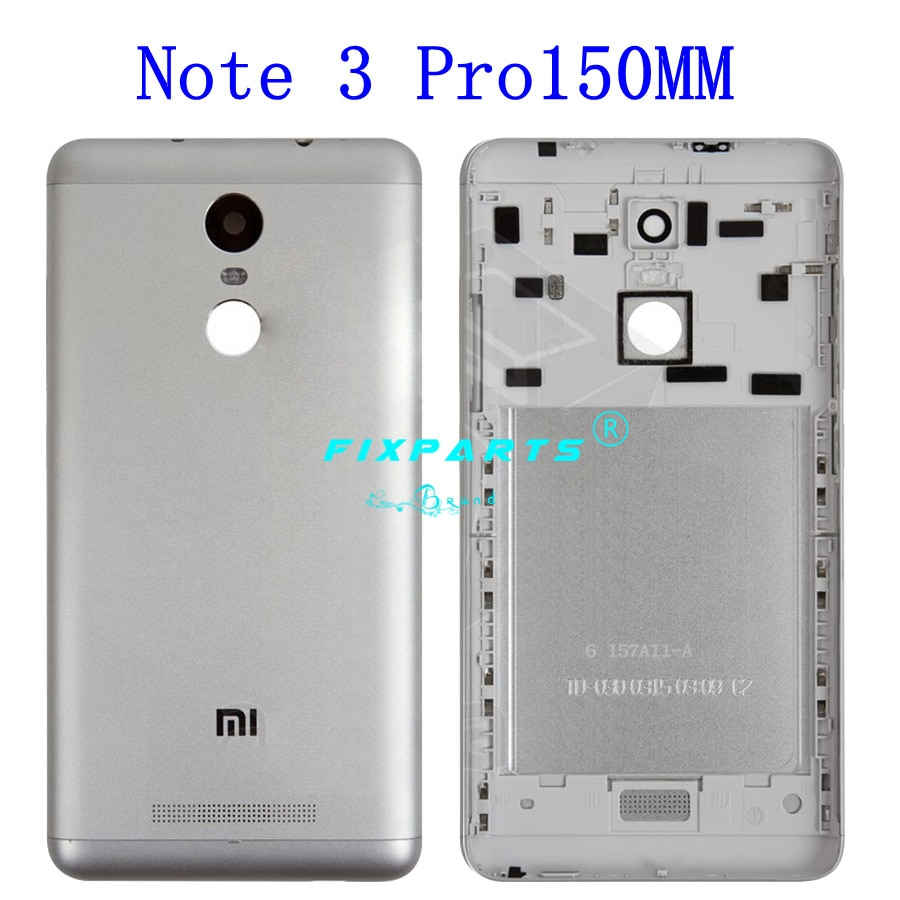 New for Xiaomi Redmi Note 3 150mm/152mm Battery Cover Redmi Note 3 Pro Back Battery Cover Housing Case Global Special Edition enlarge