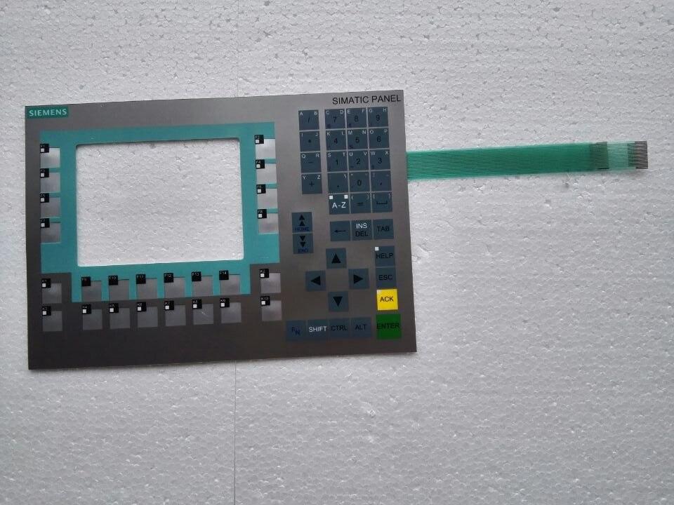 6AV6643-0BA01-1AX0 لوحة مفاتيح غشائية فيلم ل HMI لوحة و CNC إصلاح ~ تفعل ذلك بنفسك ، جديد ويكون في الأسهم