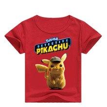 DLF T-shirt manches courtes enfants   Vêtements dété Pokemon pour enfants, Pikachu Tee-Shirt pour garçons et filles