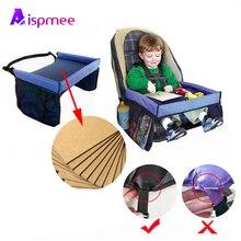 ASIPMEE Hoge Kwaliteit Reizen Lade Baby-autozitje Lade Kinderwagen Kinderen Speelgoed Voedsel Water Houder Desk Kinderen Draagbare Tafel 40*32cm
