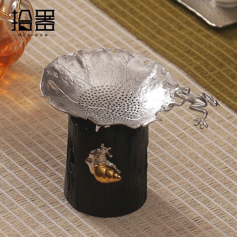 2018 Handmade Tin Tea Infuser Teapot Colander Tea Set Coffee Percolator Tea Leaf Spice Filter Tea Strainer Home Decoration Gifts