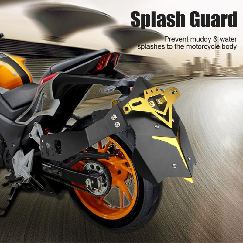 Trasero de la motocicleta barro guardia soporte para Yamaha MT03 MT07 MT09 R3 trasero de la motocicleta guardabarros