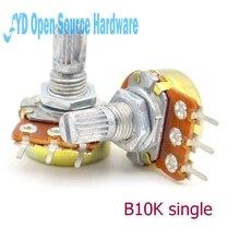 10 stücke B10K L 15MM WH148 einzigen gemeinsamen verstärker potentiometer