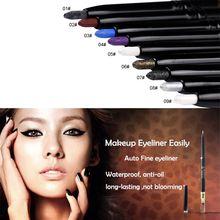 9 couleurs mat maquillage imperméable Gel Eyeliner crayon stylo Liner yeux cosmétiques
