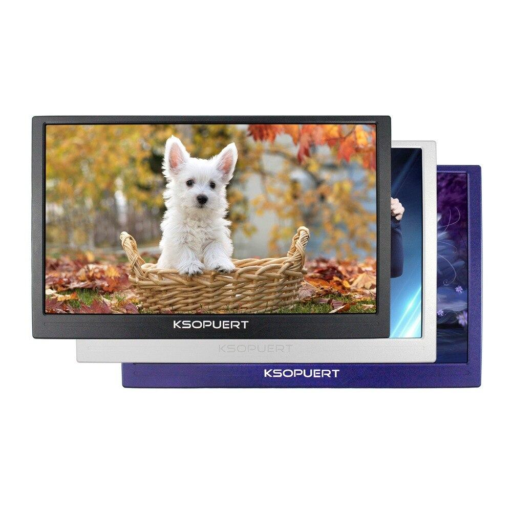 Monitor LCD 4K 15,6 pulgadas 3840x2160 Entrada de altavoz HDMI integrado para Monitor de juego