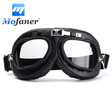 Windproof Motorcycle Bike Flying Goggle Glasses Anti-UV Motorbike Helmet Glasses Goggles