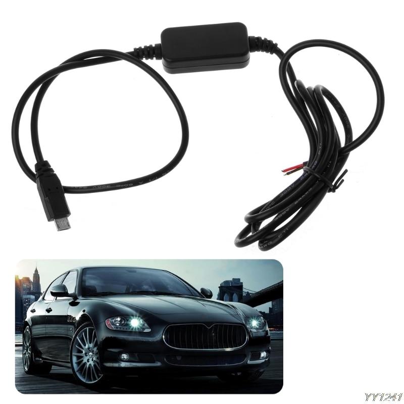 ANENG cargador de coche Micro USB salida 12V a 5V 3A convertidor de fuente de alimentación para PDA DVR videocámara #14521 #