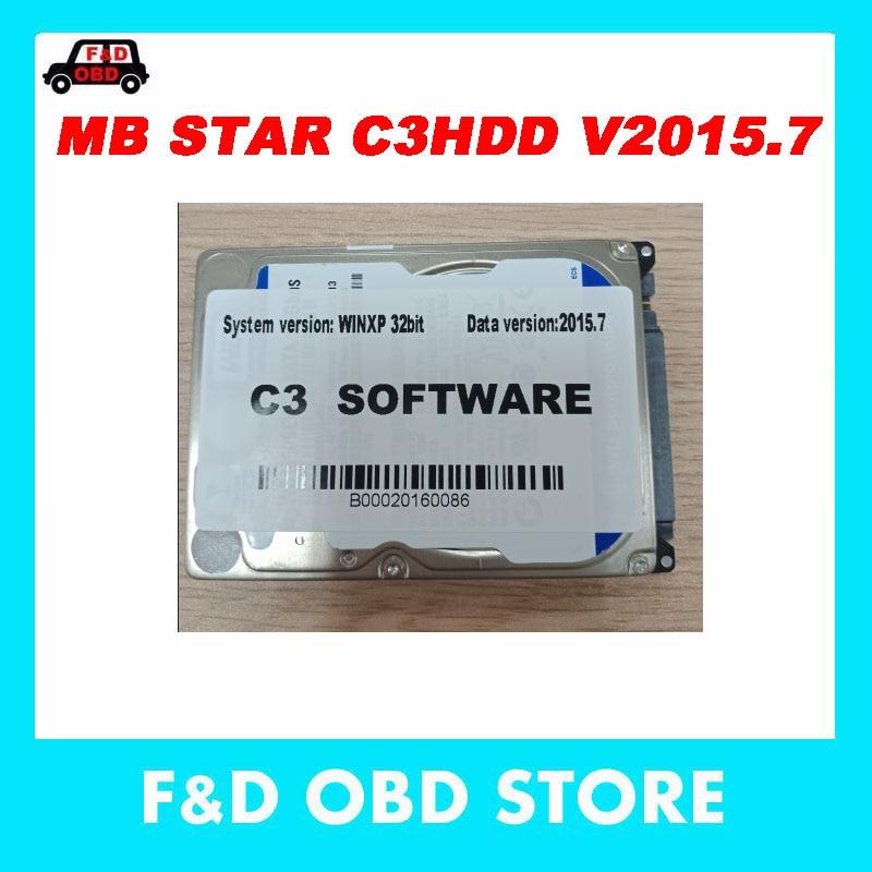 2019 neueste mb star c3hdd MB Multiplexer MB Star C3 software HDD 2015,07 versio