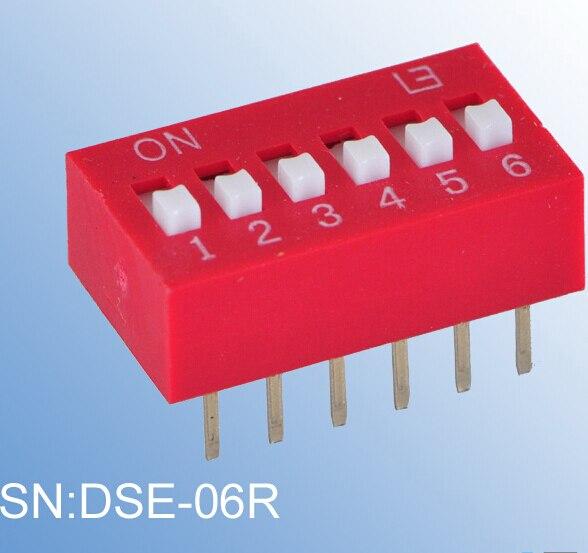 ELEWIND Excessed نوع من DIP التبديل (DSE-06R)