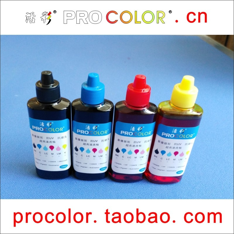Dye ink, kit de recarga de tinta para impressora epson 73 tinta t0731-t0734 cartucho CX3900 CX3905 CX4900 CX4905 CX5900 CX8300 C79 C90 C110 C92