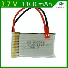 3.7V 1100mAh Lipo batterie pour HQ898B H11D H11C télécommande hélicoptère 3.7 Lipo batterie 903048 1100mah JST plug