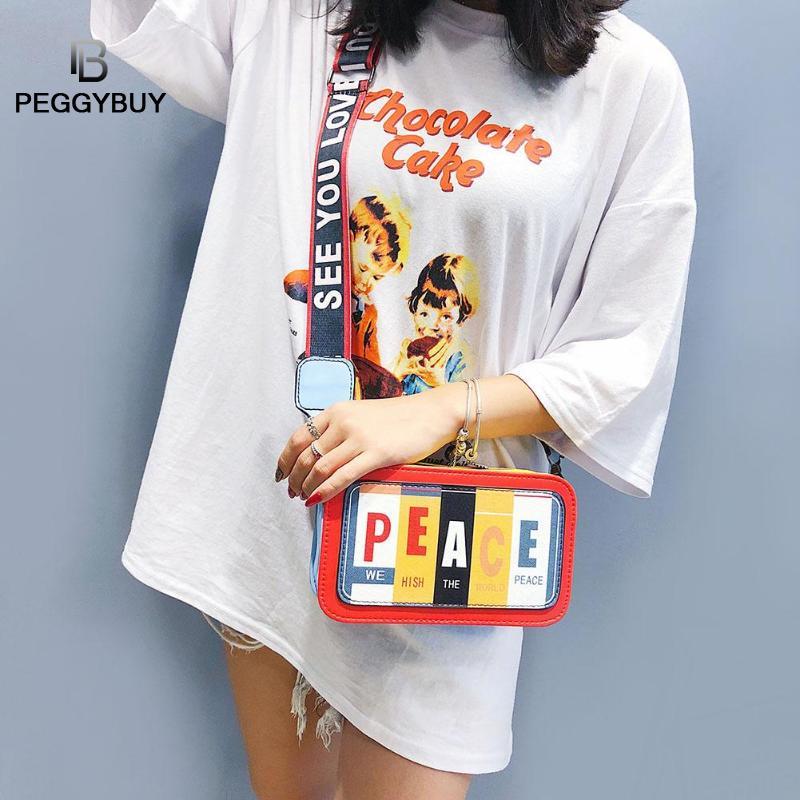 Street Style Zipper Camera Radio Shape Crossbody Bags for Women Ladies PU Leather Handbag Shoulder Crossbody Bag Ladies Handbag