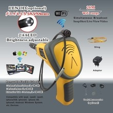 Casserole Super Wi-Fi   Caméra endoscopique CMOS, caméra de vidéosurveillance, outil dinspection