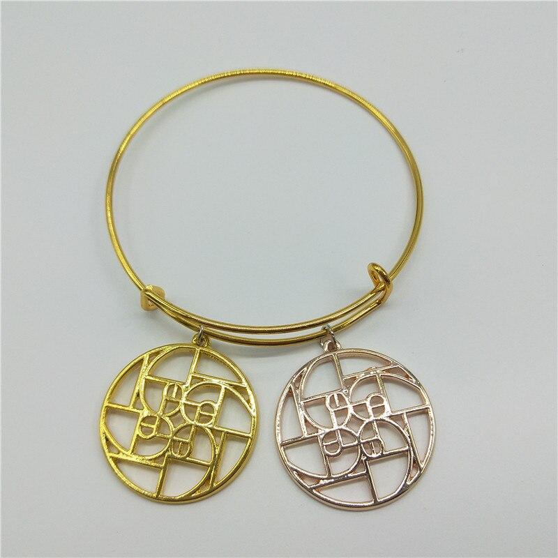 Fibonacci a spirale en un cerchio-Oro un spirale-Oro rapporto-geometria regalo-scienza brazaletes graducation...
