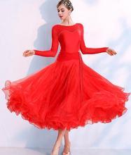 Salle de bal robe standard robe de salon salle de bal femmes valse robe robes de danse standard femmes 295 costumes
