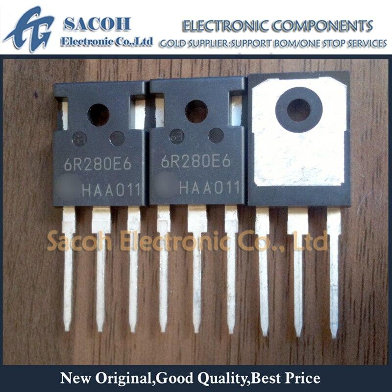 Envío gratis 10 piezas IPW60R280E6 6R280E6 IPW50R280CE 5R280CE-247 13.8A 600 V MOSFET de potencia