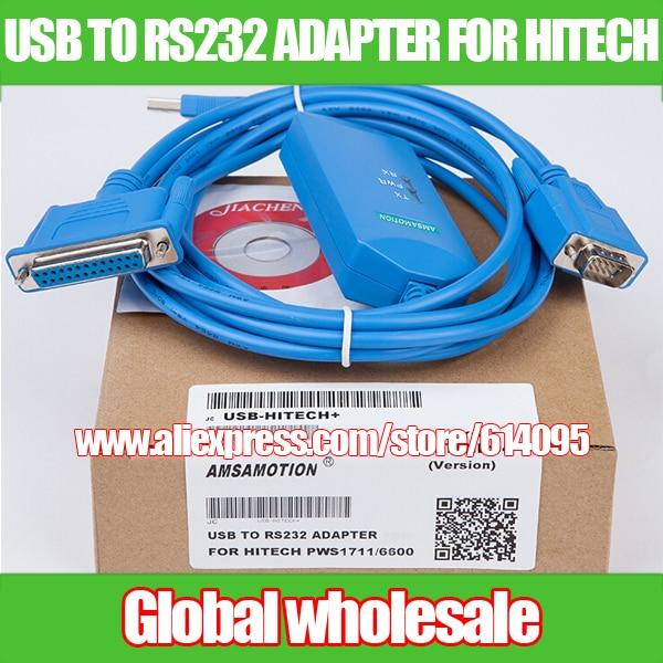 Hitech pantalla táctil descargar datos USB-HITECH + PWS1711/Adaptador USB a RS232 para sistemas de datos electrónicos HITECH PWS1711/6600