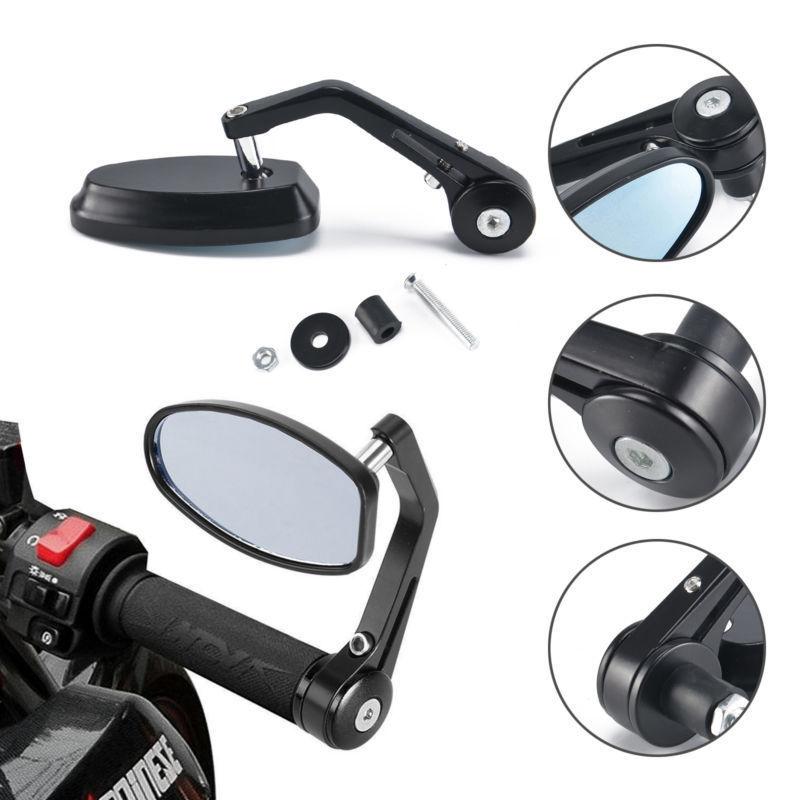 "CNC мотоцикл зеркало 7/8 ""Ручка Бар Конец Зеркала заднего вида для KAWASAKI Z750 Z800 Z900 Z1000 ER-6N ER-6F ниндзя"
