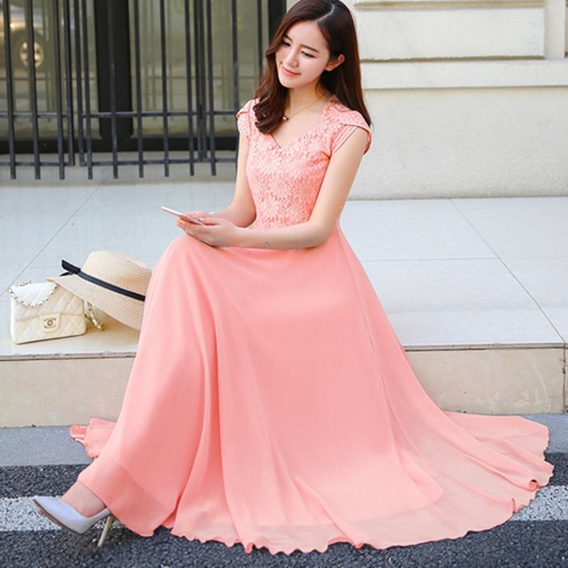 Yilin kay high-end personalizado designer runway vestido mulher 2019 crisp sem mangas renda chiffon vestido para mulher