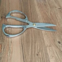 scissors household gold and silver stainless steel tailor sewing scissors blade dressmaking shears kitchen shears