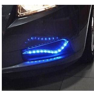 2 piezas de niebla LED luz de la lámpara para Chevrolet CRUZE 2009, 2010, 2011, 2012, 2013