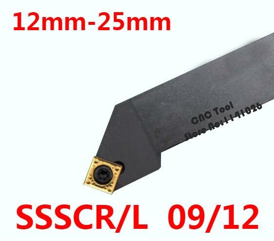 Угол 45 SSSCR1212H09 SSSCR1616H09 SSSCR2020K09 SSSCR2525M09 SSSCR2020K12 ssscr25m12 SSSCL инструменты для поворота правой/левой рукой