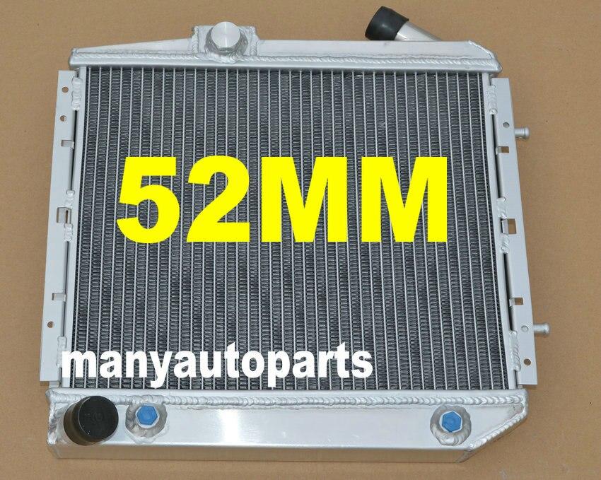 52 MILLIMETRI di alluminio del radiatore PER RENAULT 5 SUPER 5/R5 9/11 GT TURBO AT 1985-1991 86