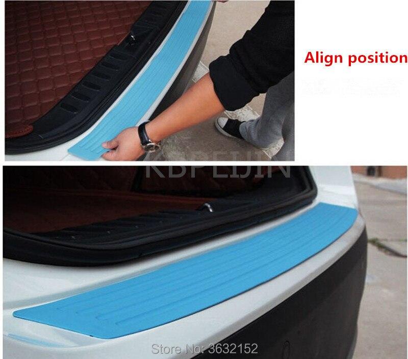 Tira decorativa protectora de parachoques trasero de coche, accesorios de estilo de coche para Mini cooper jcw clubman countryman cabrio paceman