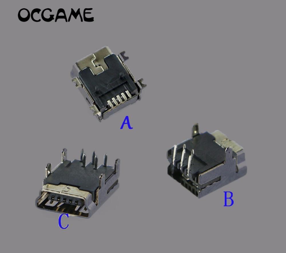 500 قطعة/الوحدة الطاقة ميناء الشحن موصل الطاقة شاحن المقبس البسيطة usb بيانات شاحن ميناء ل PS3 اللاسلكية تحكم OCGAME