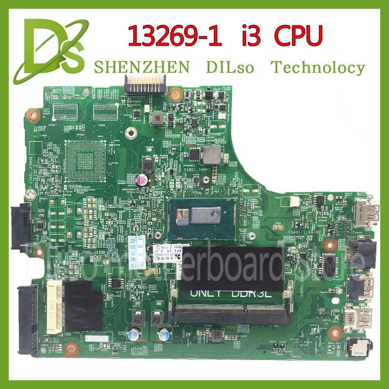 Материнская плата KEFU 13269-1 для DELL 3542 DELL 3442 dell 3543 3443, 13269-1 PWB FX3MC REV A00, материнская плата I3, процессор, работа 100%