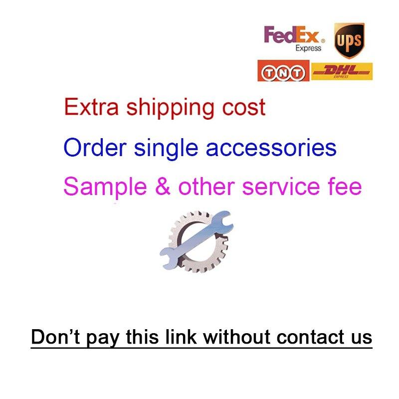 Coste de envío adicional, accesorios de un solo pedido, otro servicio, antes de contactarnos.