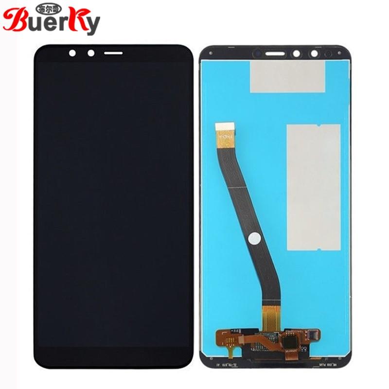"BKparts probado 5,93 ""de Huawei Y9 2018 FLA-LX2 LCD pantalla táctil pantalla LCD completo Montaje del digitalizador de pantalla de reemplazo"