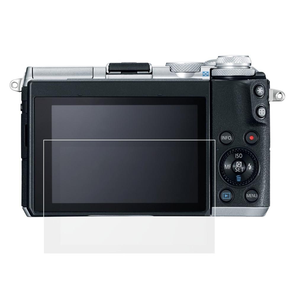 Vidrio Templado autoadhesivo/película funda protectora de pantalla LCD para cámara Canon EOS RP M6 M50 M100 M200 KISS M