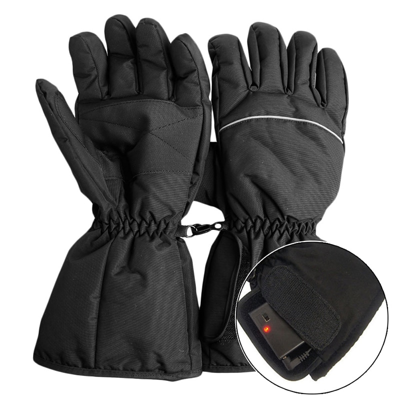 Motorcycle Outdoor Hunting Electric Warm Waterproof Heated Gloves Battery Powered For Motorcycle Hunting Winter Warmer enlarge